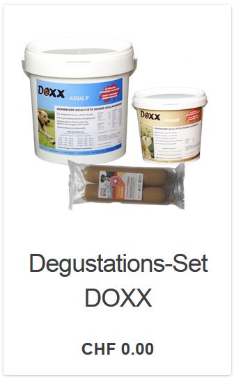 Für einen Unkostenbeitrag erhalten Sie das Degustations-Set um das Hundefutter kennen zu lernen.
